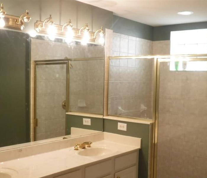 Bathroom restoration in an apartment unit After