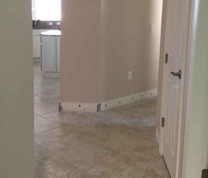 Water damage in Ft. Myers home