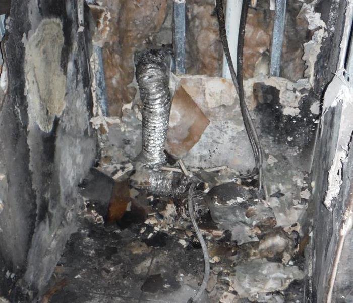 Fire cleanup in Ft. Myers Apartment Building